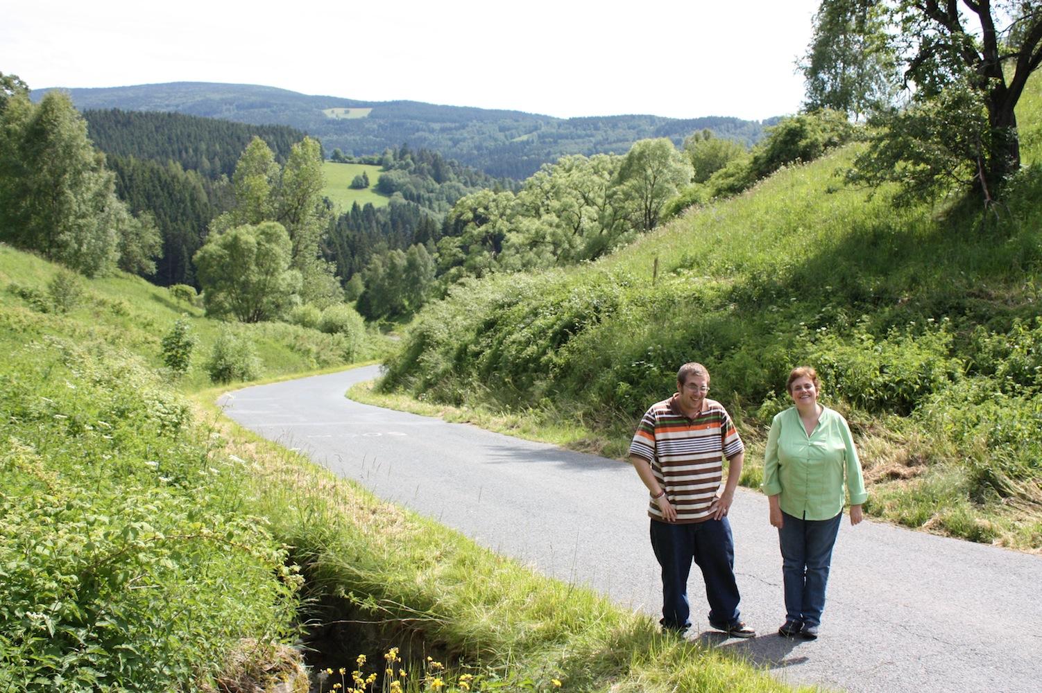 Picture of Cindy and Klinton KašperskéHory