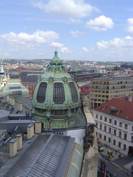 View of Prague from Powder Tower