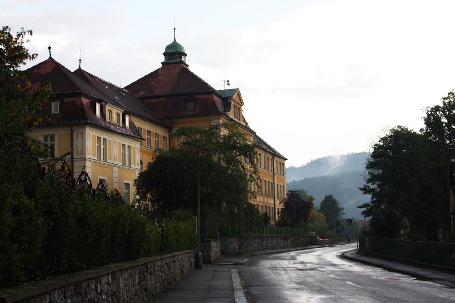 School at KašperskéHory